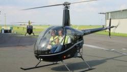 Edward Little High School Auburn Maine: Helicopter Flight