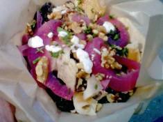 Lentil Salad at Fins on the Hoof
