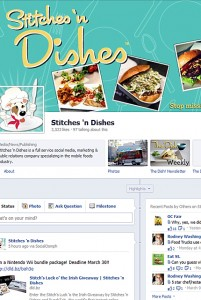 facebookpagetimeline1 201x300 New Facebook Timeline Page Layout Improves Social Media Marketing for Food Trucks