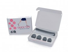 quicktips 11 235x181 Say Goodbye to the Hassle of Worn Out Heel Tips   GoGo Heel™ Introduces the Instant Heel Tip