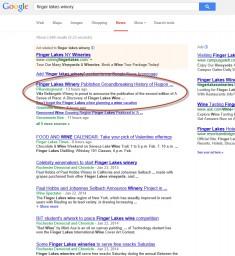finger lakes wine google news