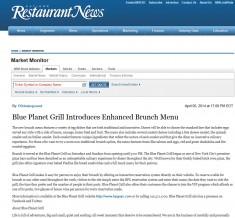 blue planet grill nrn