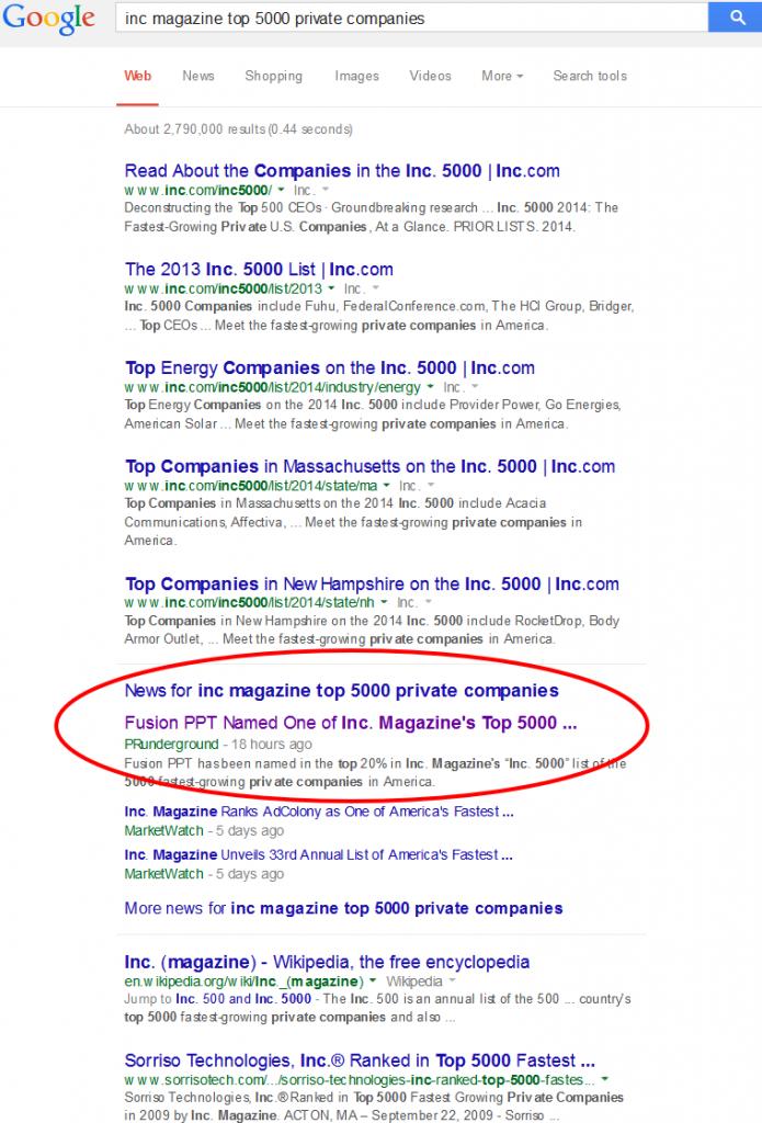 inc magazine top 5000 private companies - Google Search 2014-08-26 21-47-33