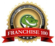franchise 100 logo small 235x197 Franchise Gator Releases Fastest Growing and Top Emerging Franchises Lists