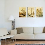 3 piece canvas print sepia paris france 150x150 Florida Fine Art Company Launches, Delivers Premium Giclee Prints and Oil Paintings