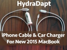 hydradapt main 235x176 KickShark announces world's only USB C iPhone cable and car charger for new Apple MacBook