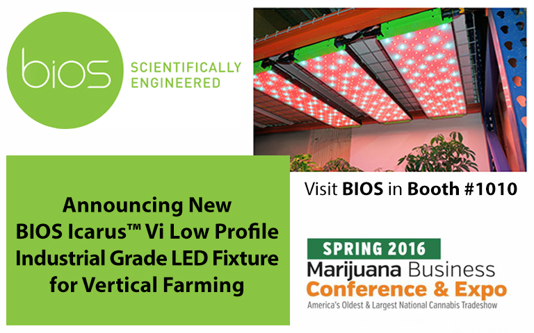 Bios Unveils New Low Profile Led Grow Lights For Vertical