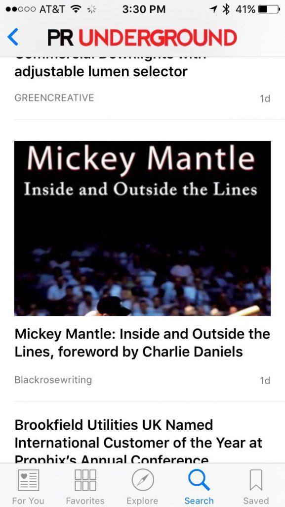 apple news screenshot