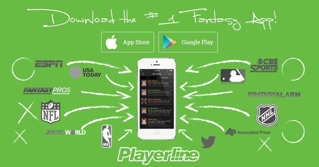 10a2b32035f Playerline, a fantasy football app that combines all the best sources for  NFL news into one app, just released a new update for iOS that enables  player ...
