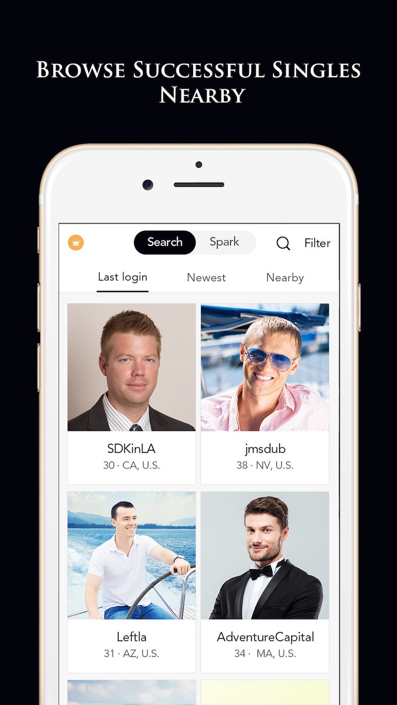 rich men dating app