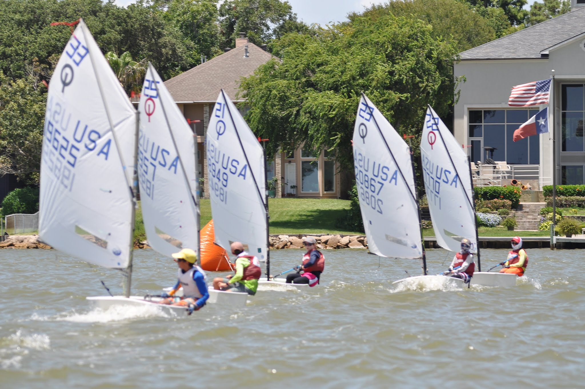 Lakewood Yacht Club Will Host Texas Youth Race Week