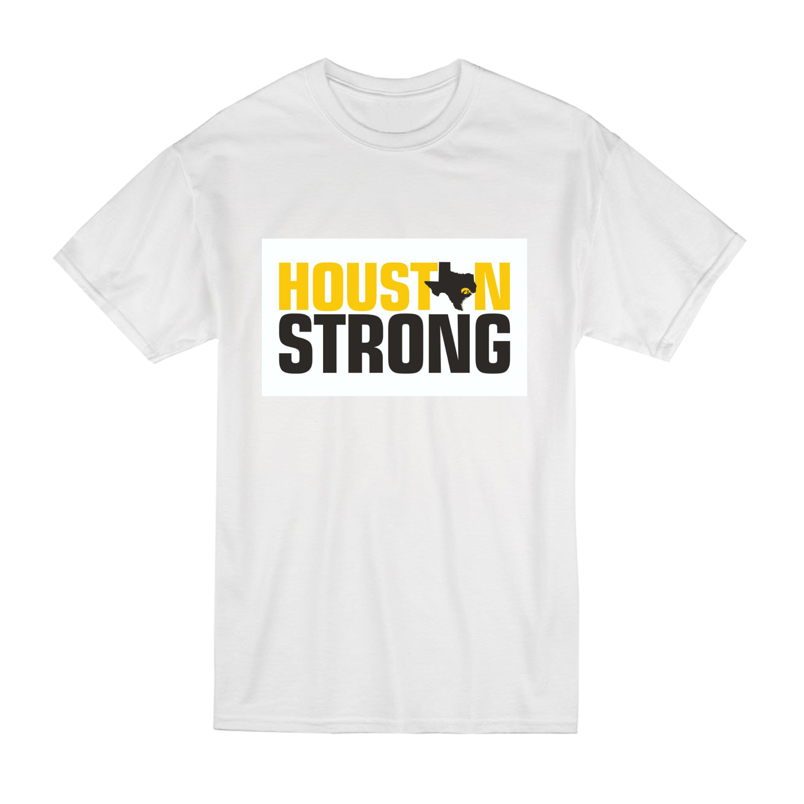 HOUSTON STRONG Hawkeye T-Shirts launched to benefit Hurricane Harvey survivors