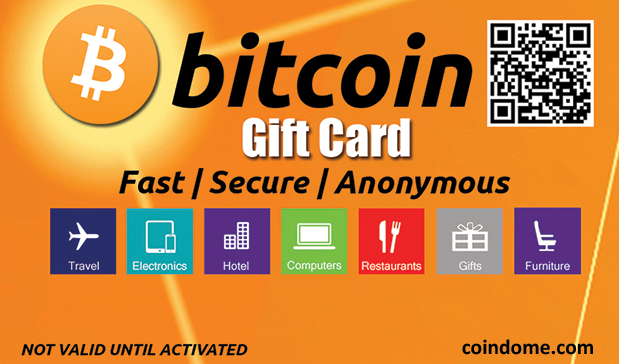 dc558f2d6b Coindome Breaks New Ground With Launch of First Bitcoin Gift Card Available  in Stores