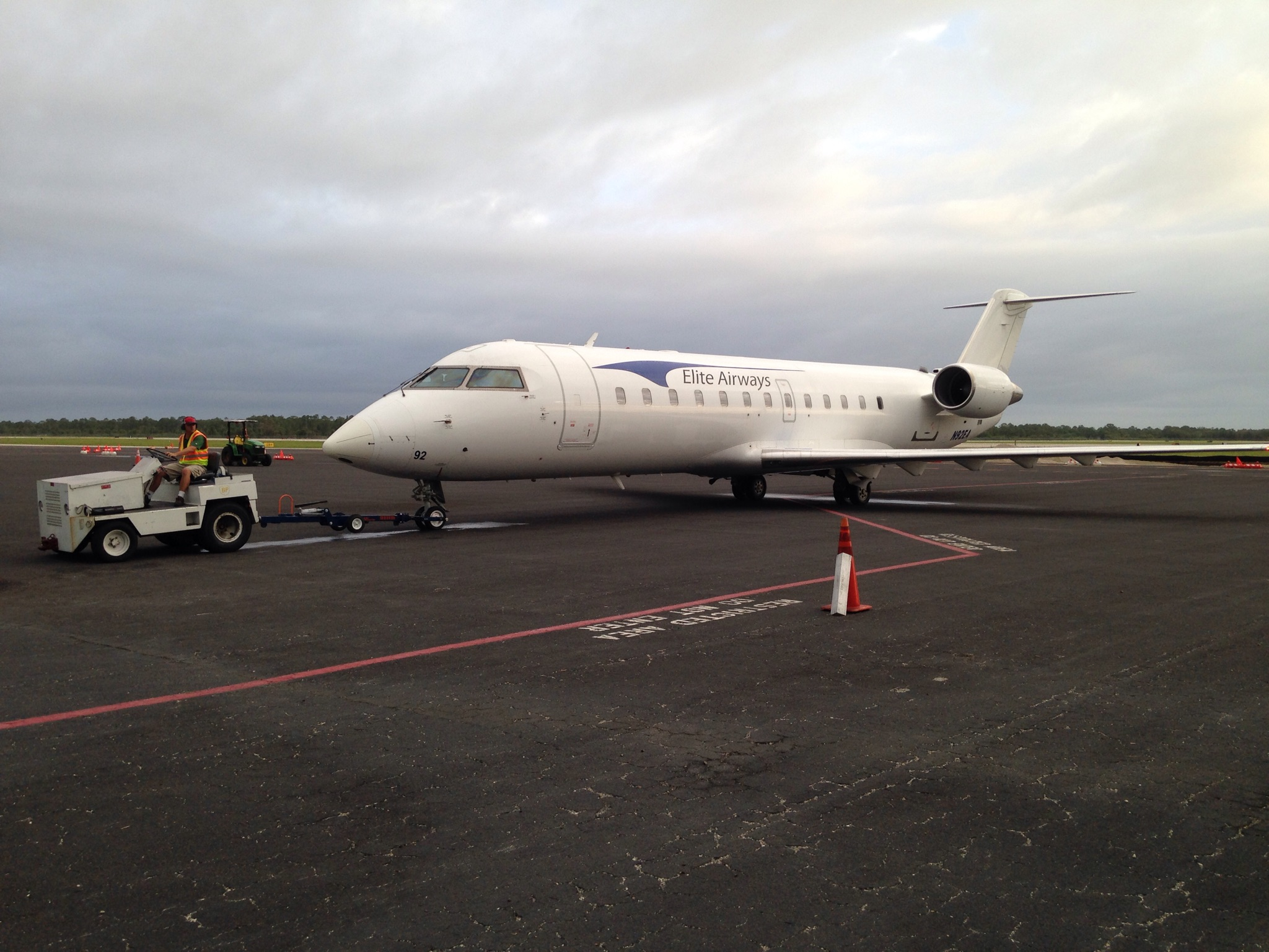 Elite Airways Vero Beach To Portland