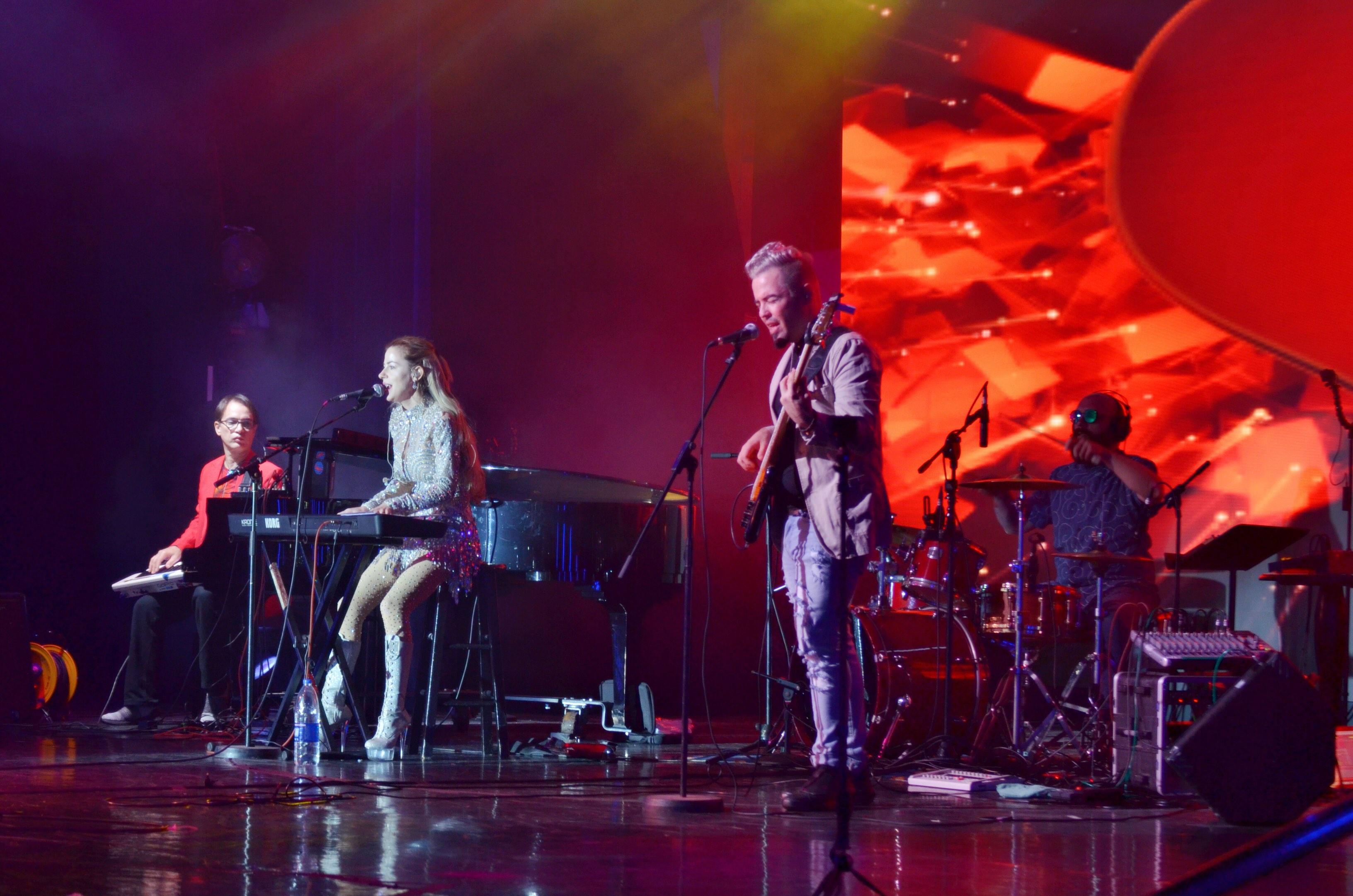 B1 Band Return To Rock The Night At Skysea Cruise Line