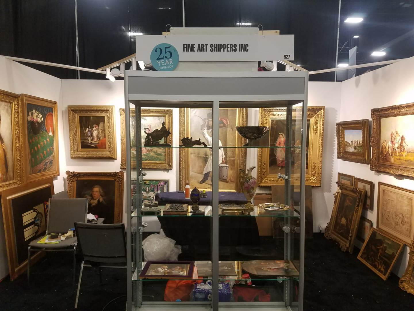 Fine Art Shippers At The Original Miami Beach Antique Show 2019