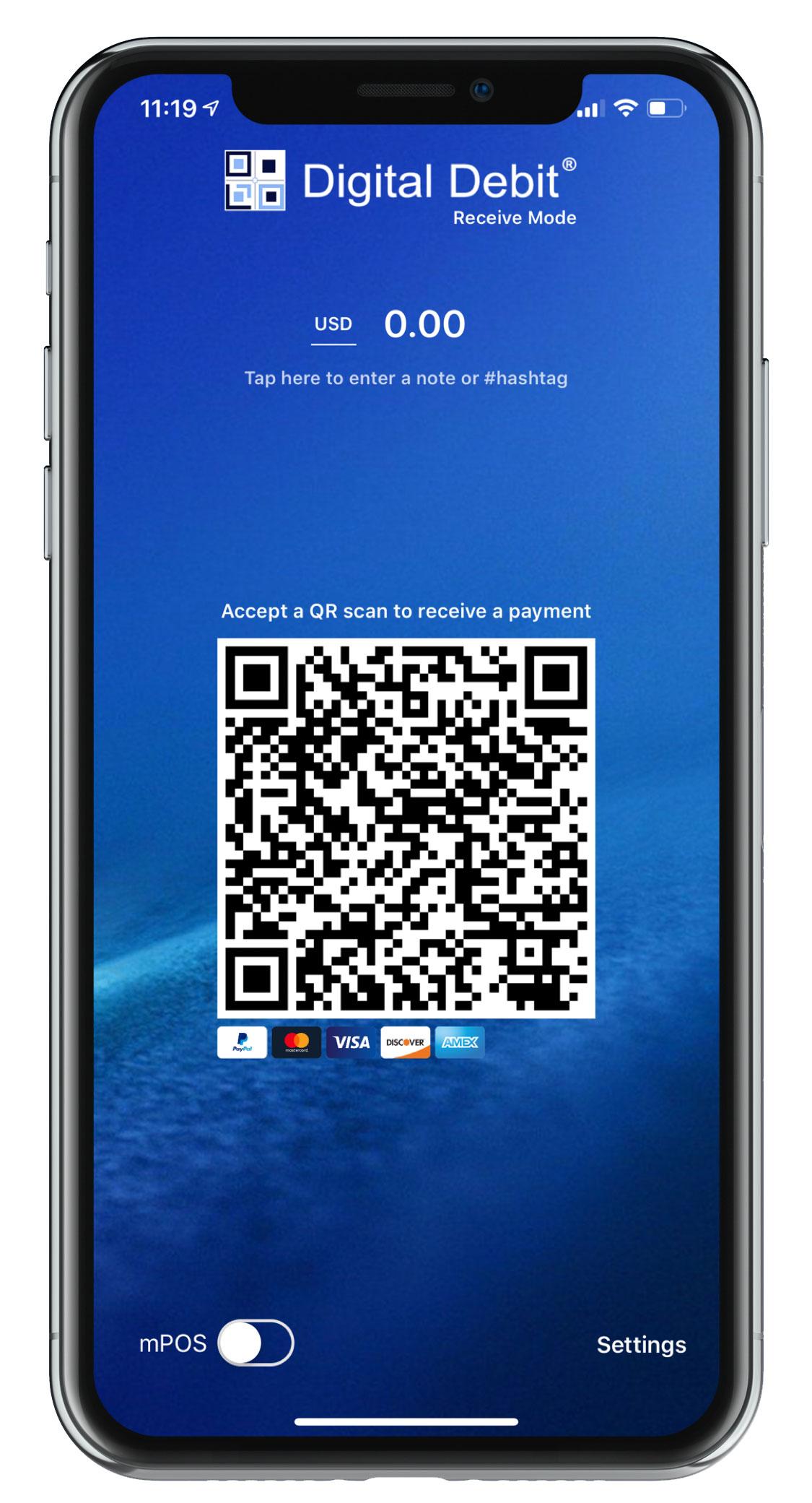 Digital Debit Group Releases Retail-Grade QR App Powered by