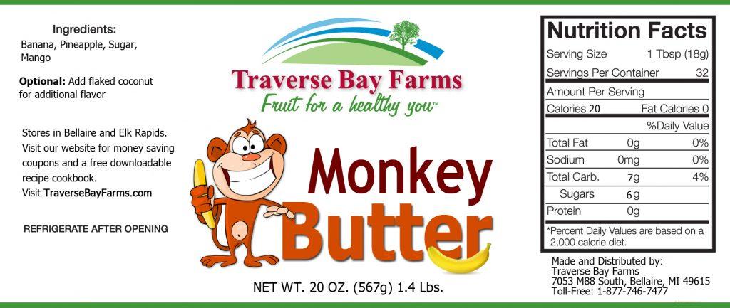 Monkey Butter from Nationally award-winning food company