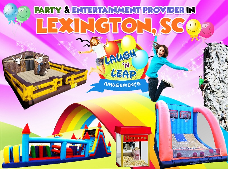 Laugh n Leap Has Bounce Houses For Rental Around Lexington