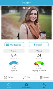 online dating feedback hit Rock Bottom dating