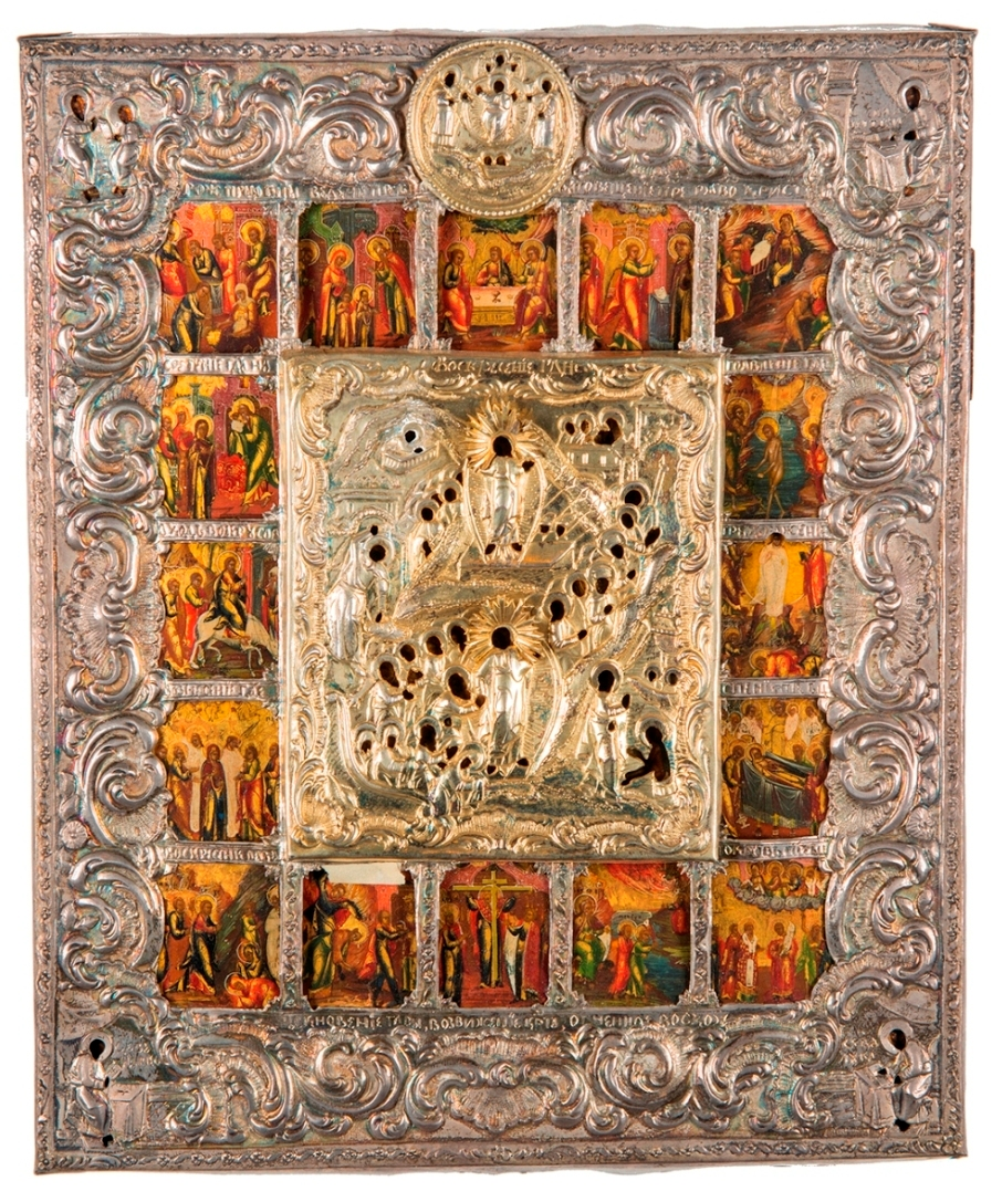 Introducing Russian Icon Collection - A Book on Russian