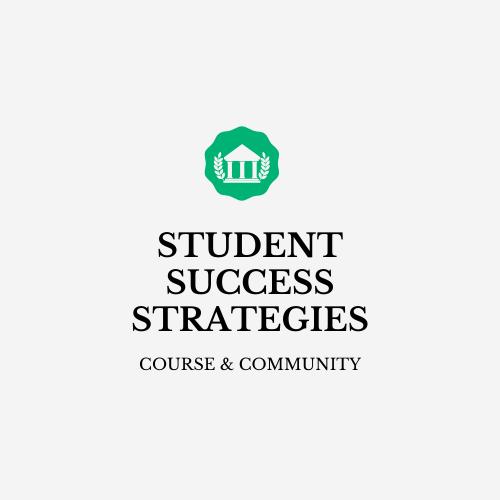 Student Success Strategies
