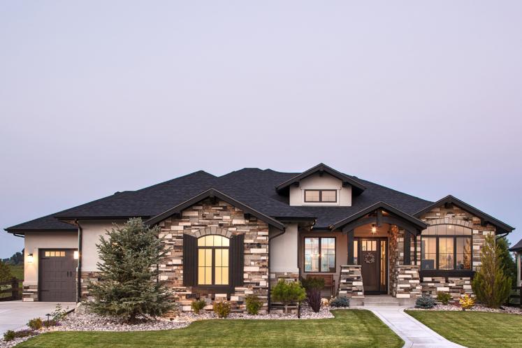Design Trend Hillside House Plans, House Plans With Daylight Walkout Basement